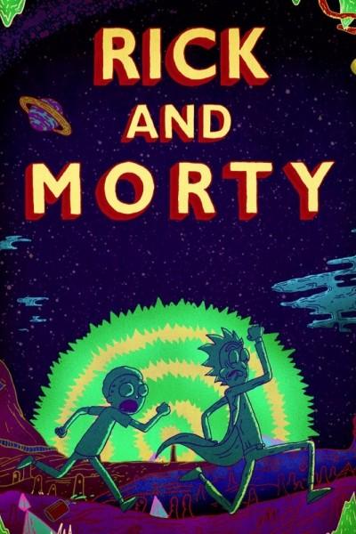 Caratula, cartel, poster o portada de Rick y Morty