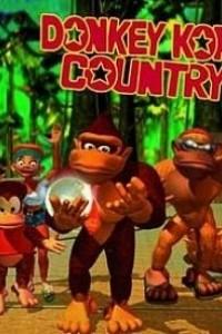 Caratula, cartel, poster o portada de Donkey Kong Country