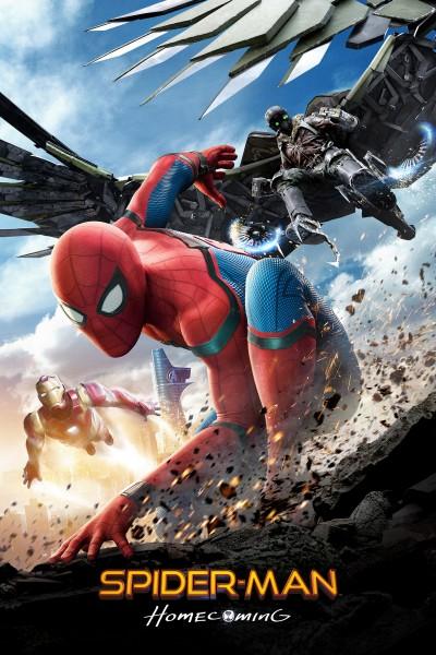 Caratula, cartel, poster o portada de Spider-Man: Homecoming
