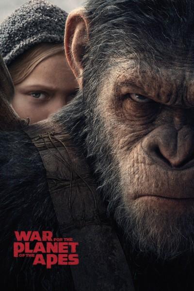 Caratula, cartel, poster o portada de La guerra del planeta de los simios