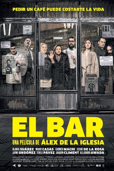 Caratula, cartel, poster o portada de El bar