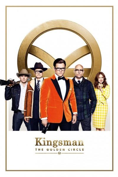Caratula, cartel, poster o portada de Kingsman: El círculo de oro